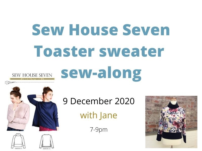 Sew House Severn Toaster Sweater Sew-Along