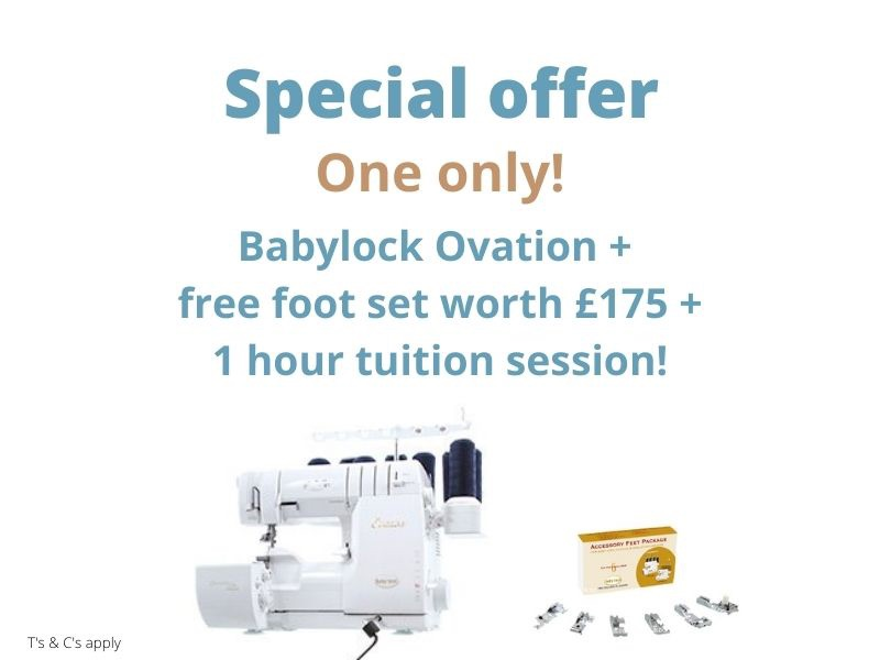 baby lock Ovation Special offer