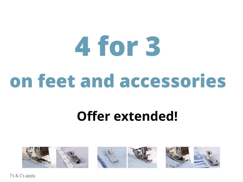 baby lock offer accessories and feet