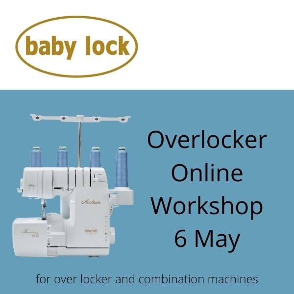 baby lock overlocker workshop