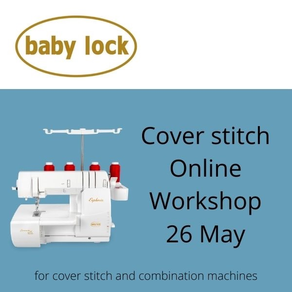 baby lock Euphoria and cover stitch workshop with baby lock Educator Katy