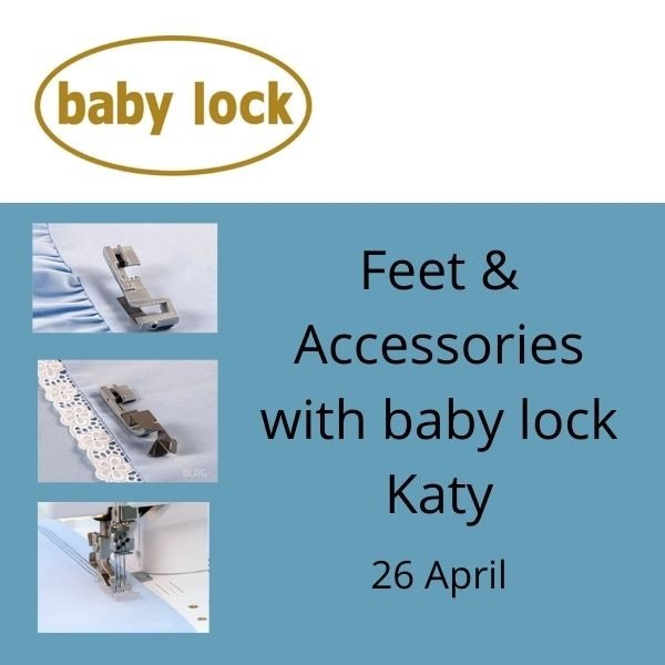 baby lock feet and accessories online free Zoom session