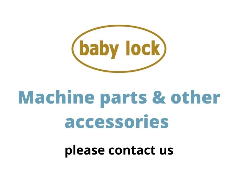baby lock machine parts and accessories