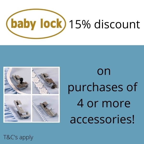 baby lock accessories special offer