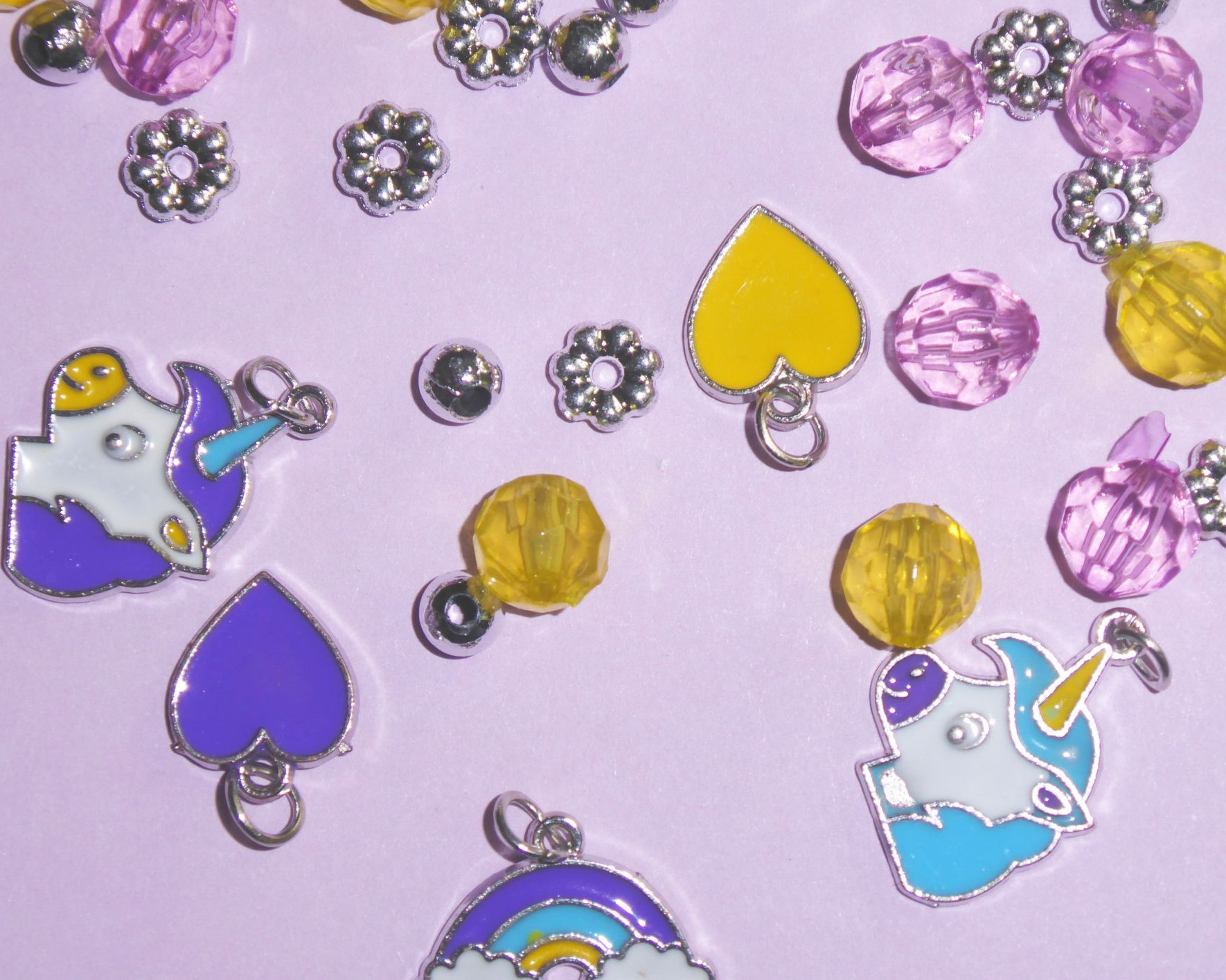charms - children jewellery party