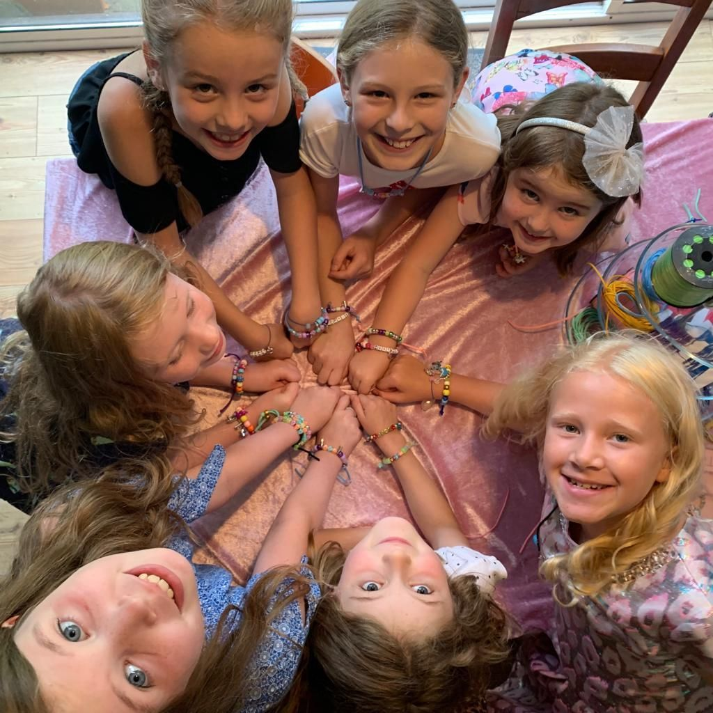 Hosted jewellery making parties