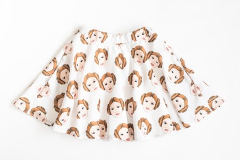Princess Leah Skater Skirt - SALE - 4 - 8 years ON SALE 50% OFF  WAS £42