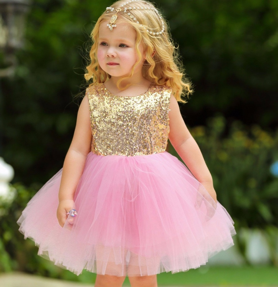 tulle girls dress