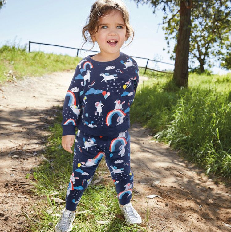 unicorn jumper set for kids