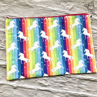 Bright Star Rainbow and Unicorn Large Swag Bag ON SALE WAS £12.50