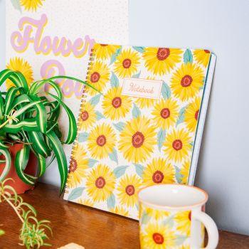 Sunflower A5 Notebook