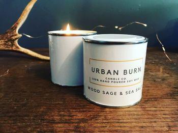 Wood Sage & Sea Salt 220g Candle