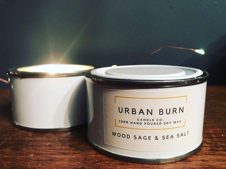 Wood Sage & Sea Salt 125g Candle