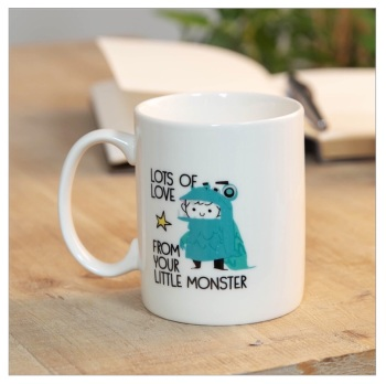 Daddy's Little Monster Mug
