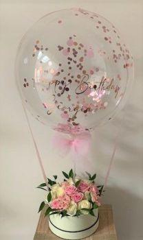 Hot Air Balloon Hat Box