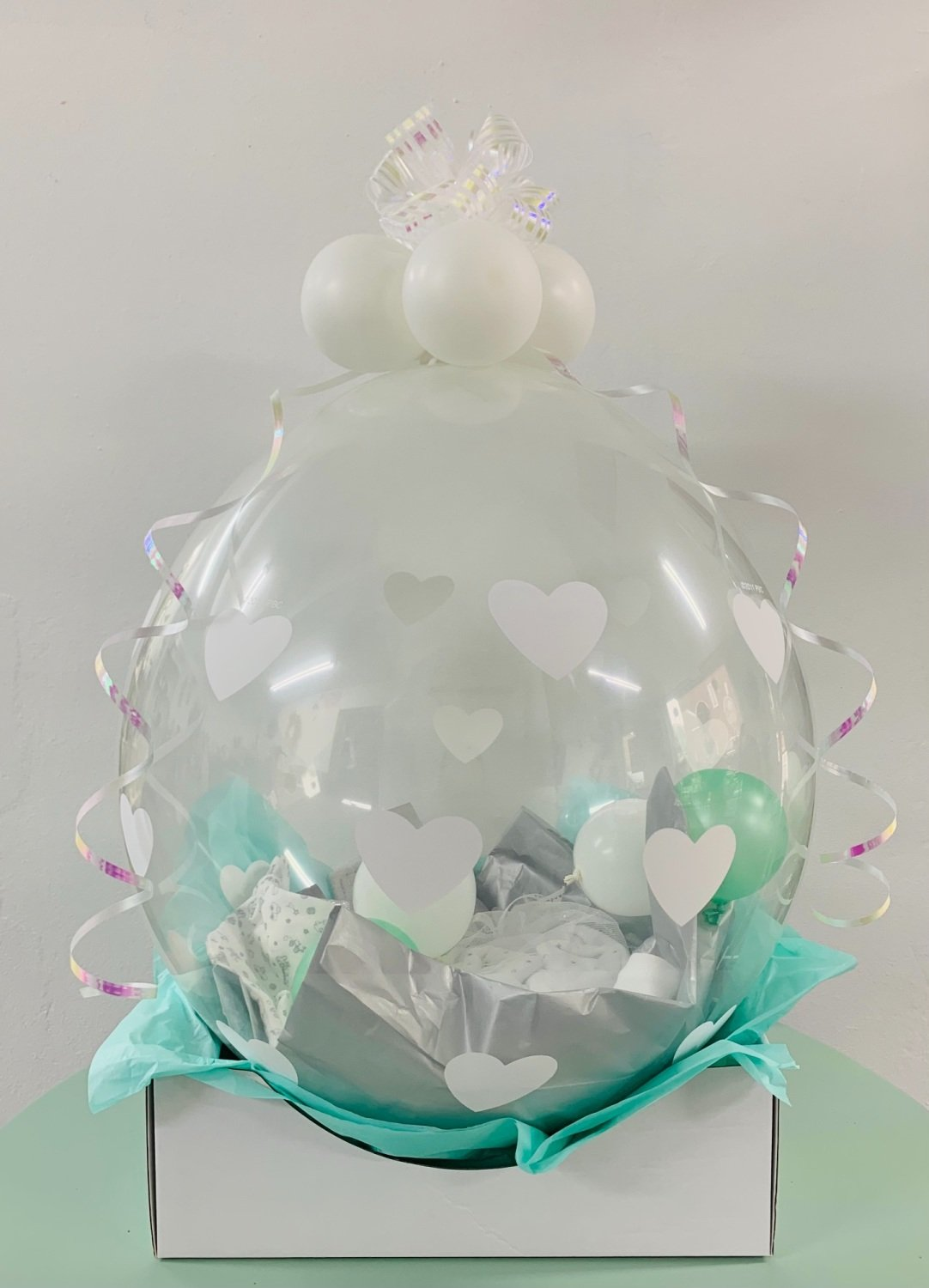 New Baby Personalised Gift Filled Balloon