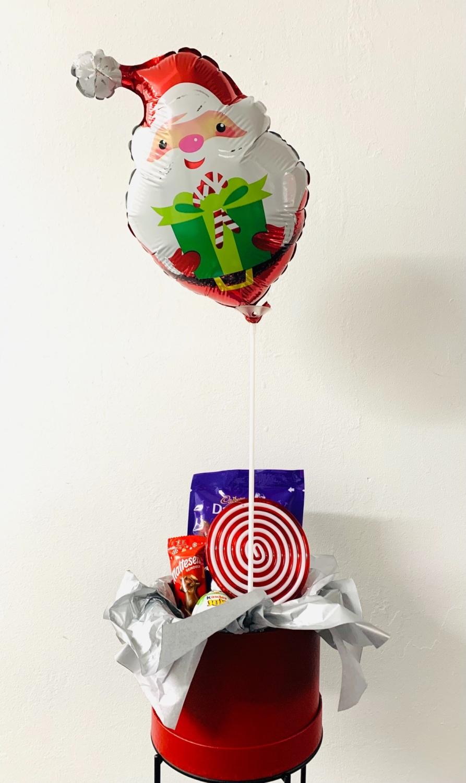Christmas Personalised Balloon Gift Set