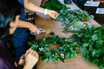 Christmas Wreath Workshop Thursday 2nd December