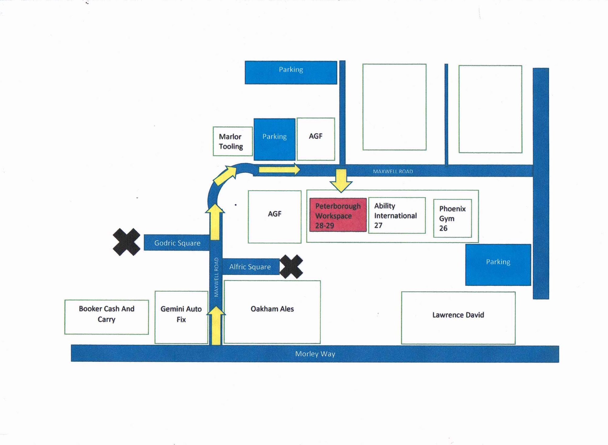 map to workspace