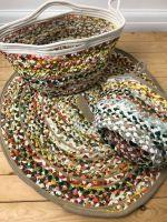 Retro Recycled Fabric Rug