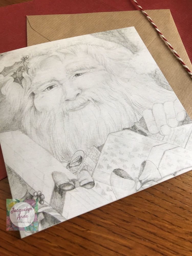 Father Christmas Greetings Card