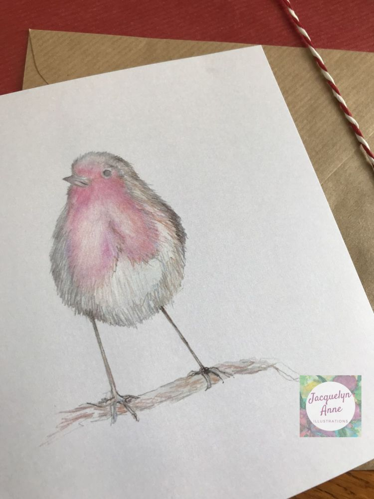 Robin Redbreast Greetings Card