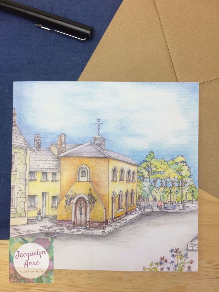 Watchet Market House Museum Greetings Card