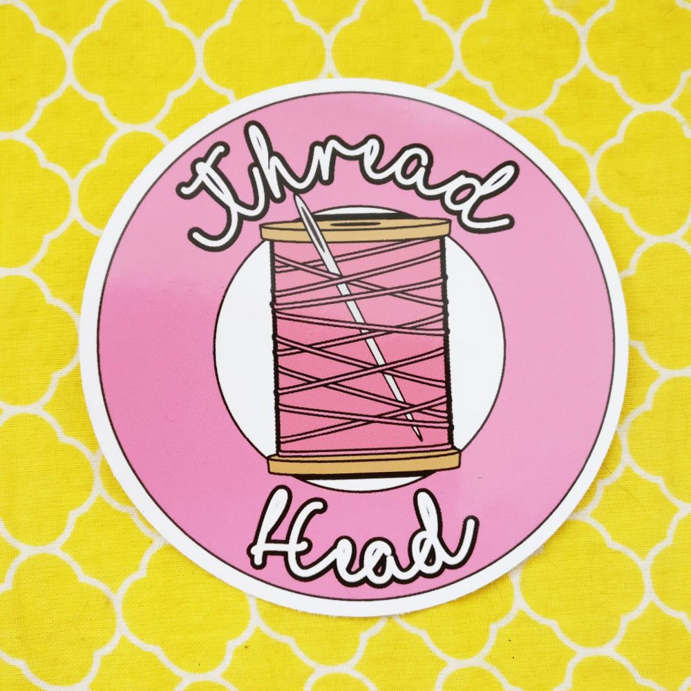 Thread Head sticker