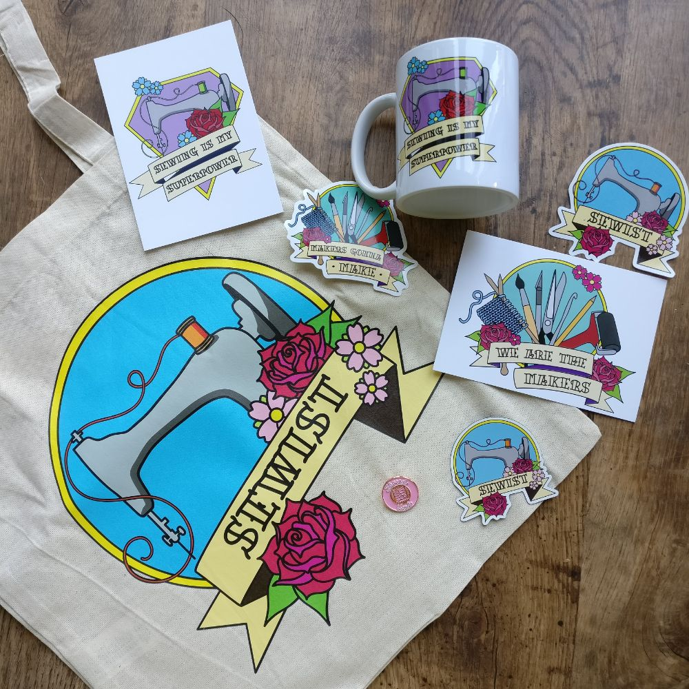 Mugs and Tote Bags