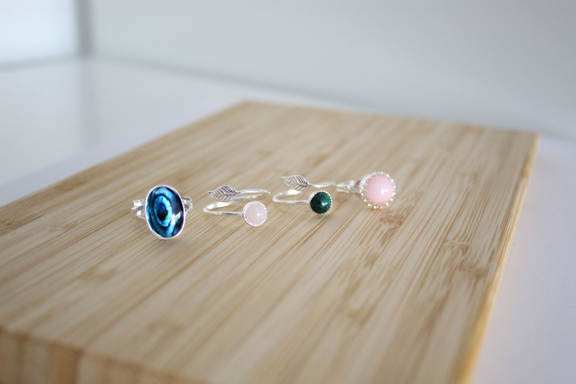Handmade Gemstone Rings by Streets Craft Creations