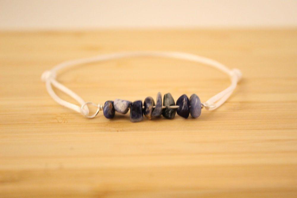 Sodalite Cord Bracelet