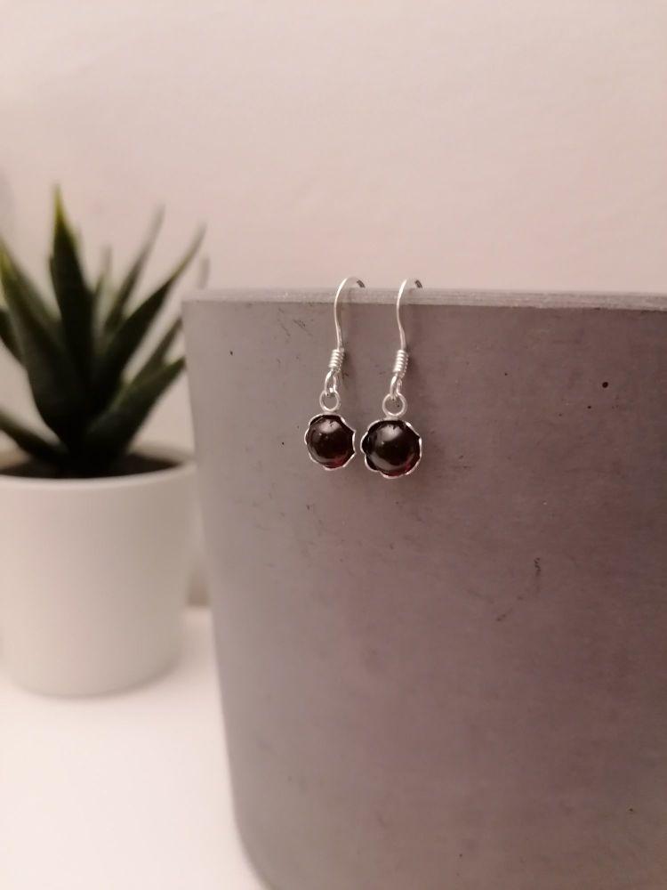 Garnet Gemstone Earrings