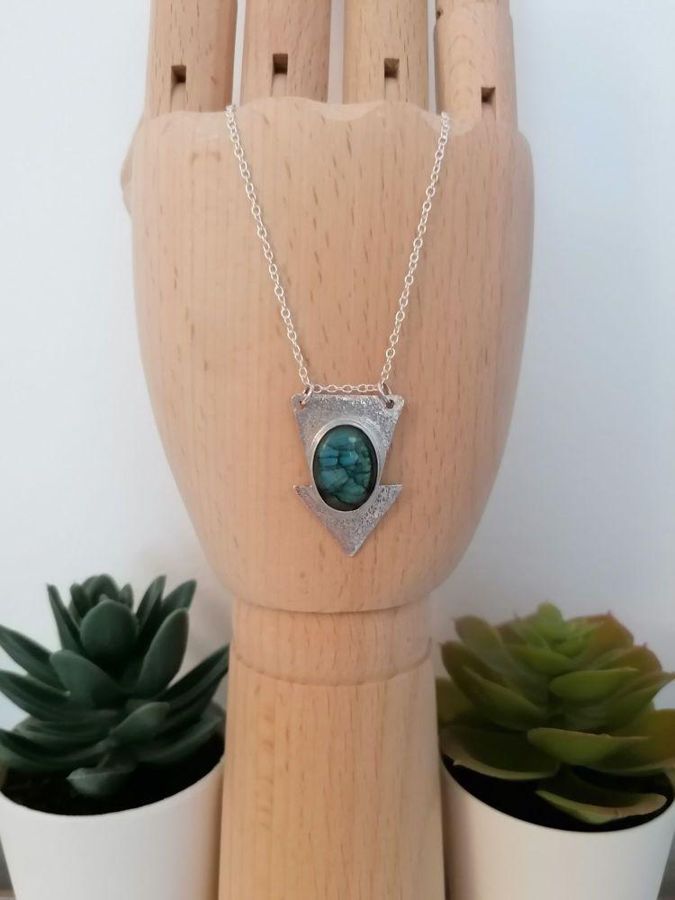 LIMITED EDITION Labradorite Arrow Necklace