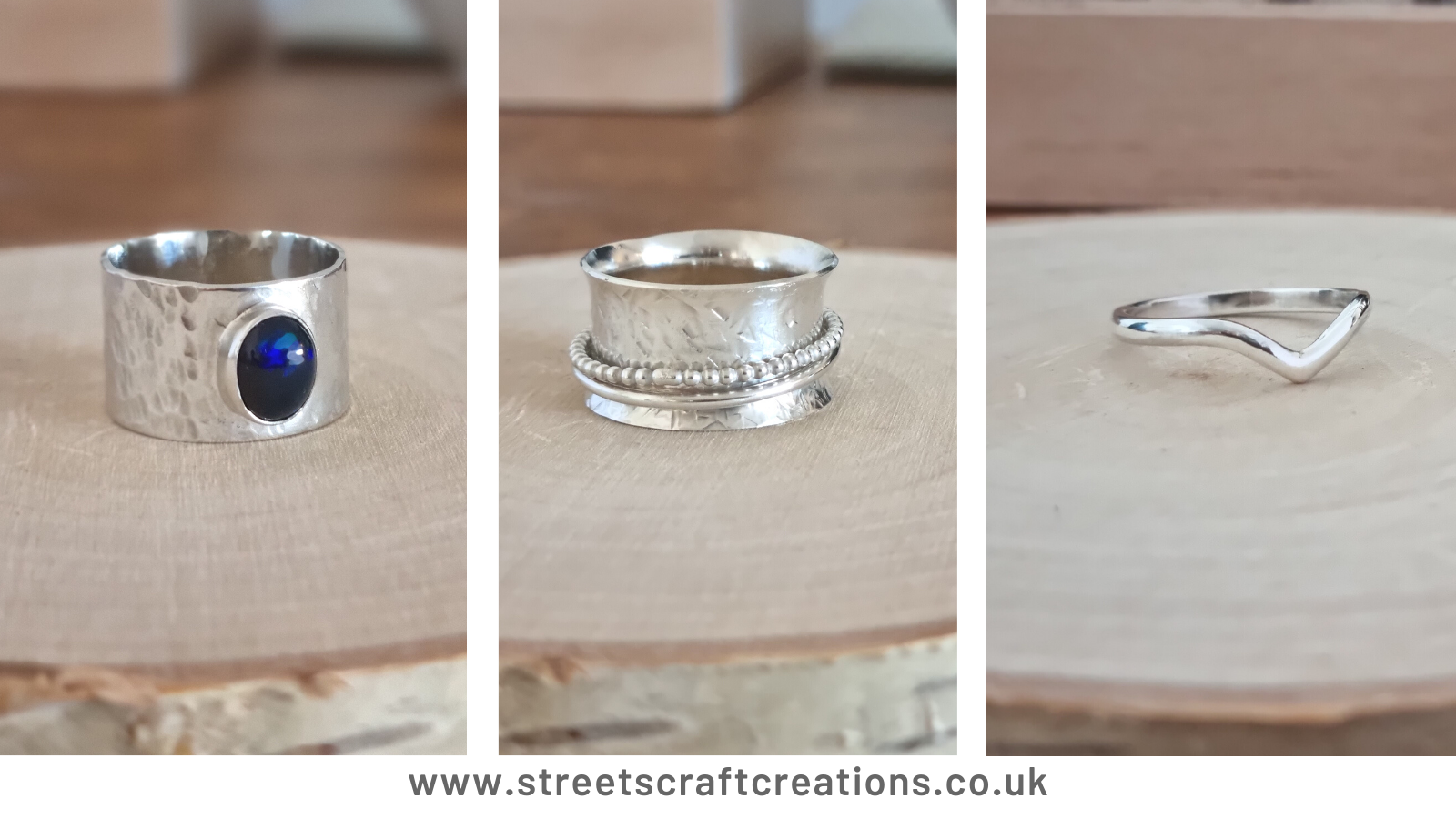Bespoke Rings Handmade by Streets Craft Creations