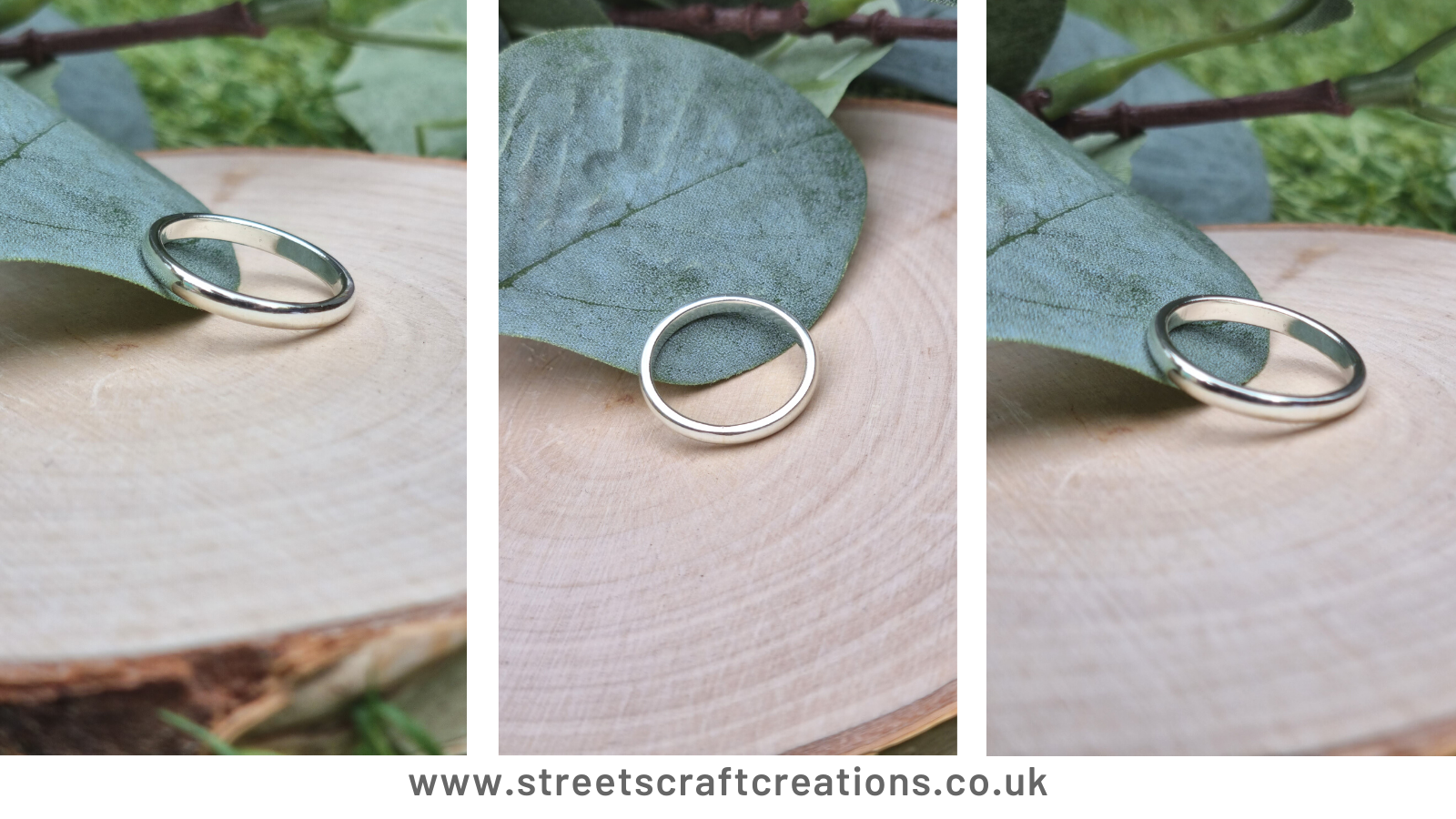 Bespoke White Gold Wedding Ring by Streets Craft Creations