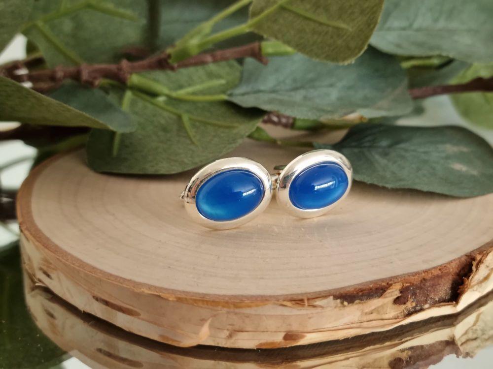 Blue Onyx Cufflinks