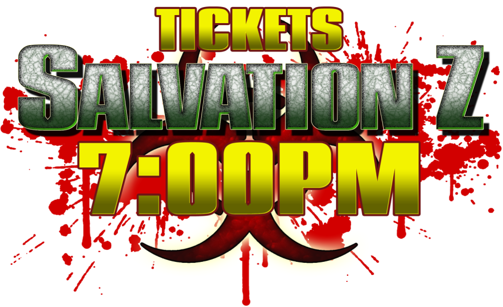 SalavtionZ Ticket 23/10 7pm