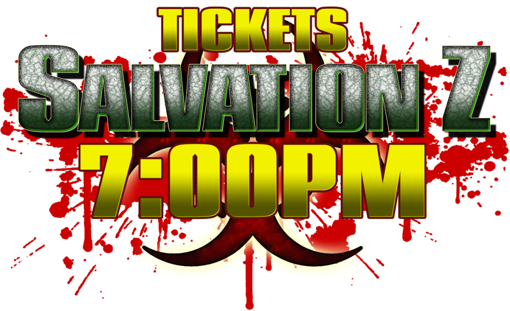 SalvationZ Ticket 31/10 7pm