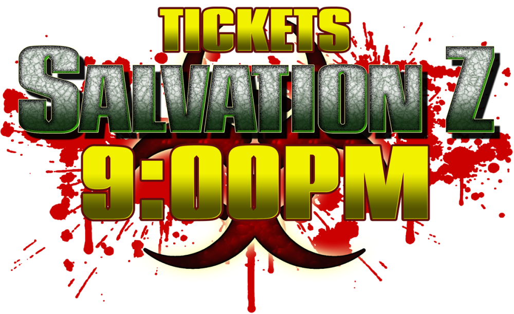 SalvationZ Ticket 31/10 9pm