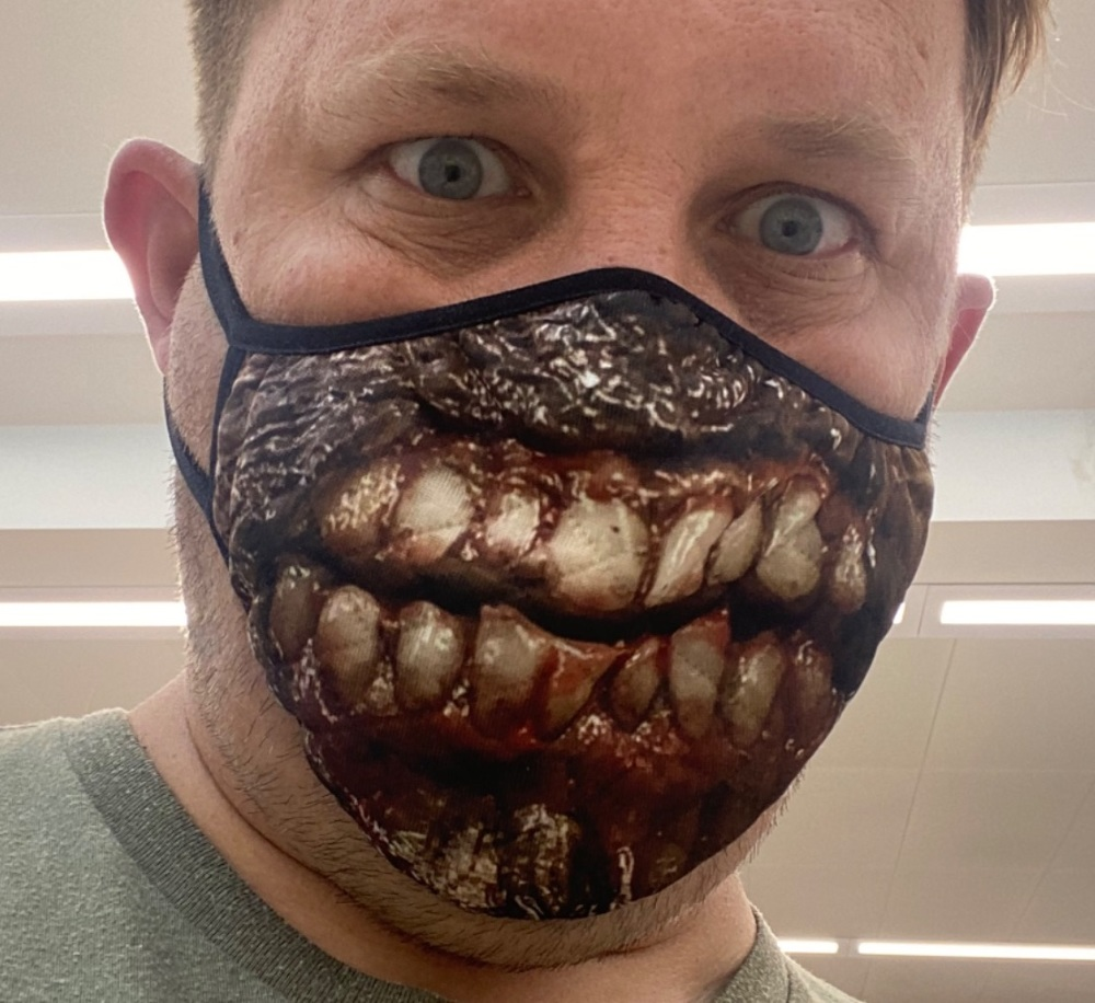 Covid Zombie Facemask