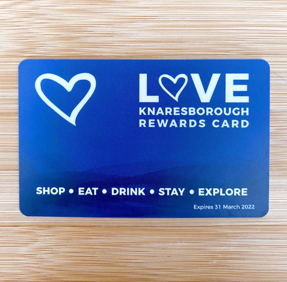 Love Knaresborough Rewards Card