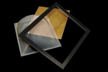 Acrylic Crystal Clear Dome And Frame
