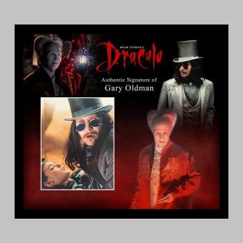 "Gary Oldman Hand Signed Dracula 10x8"" Photograph in a Framed Presentation"