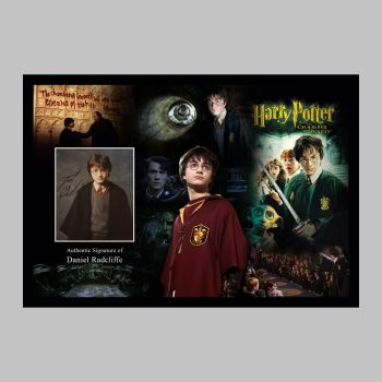"Daniel Radcliffe Hand Signed Harry Potter 10x8"" Photograph in a Framed Presentation"