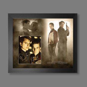 "James Marsters & John Barrowman Hand Signed Torchwood 10x8"" Photograph in a Framed Presentation"