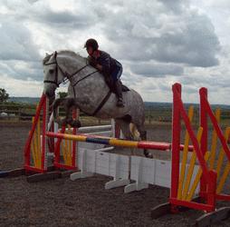 rachel jumping