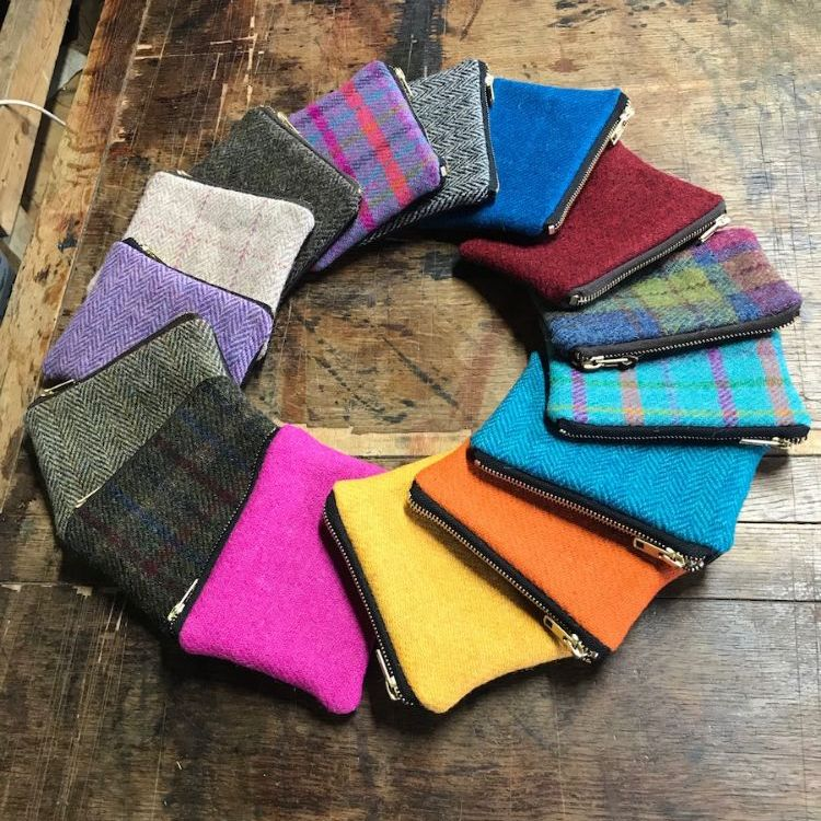 Gifts In Harris Tweed & Leather