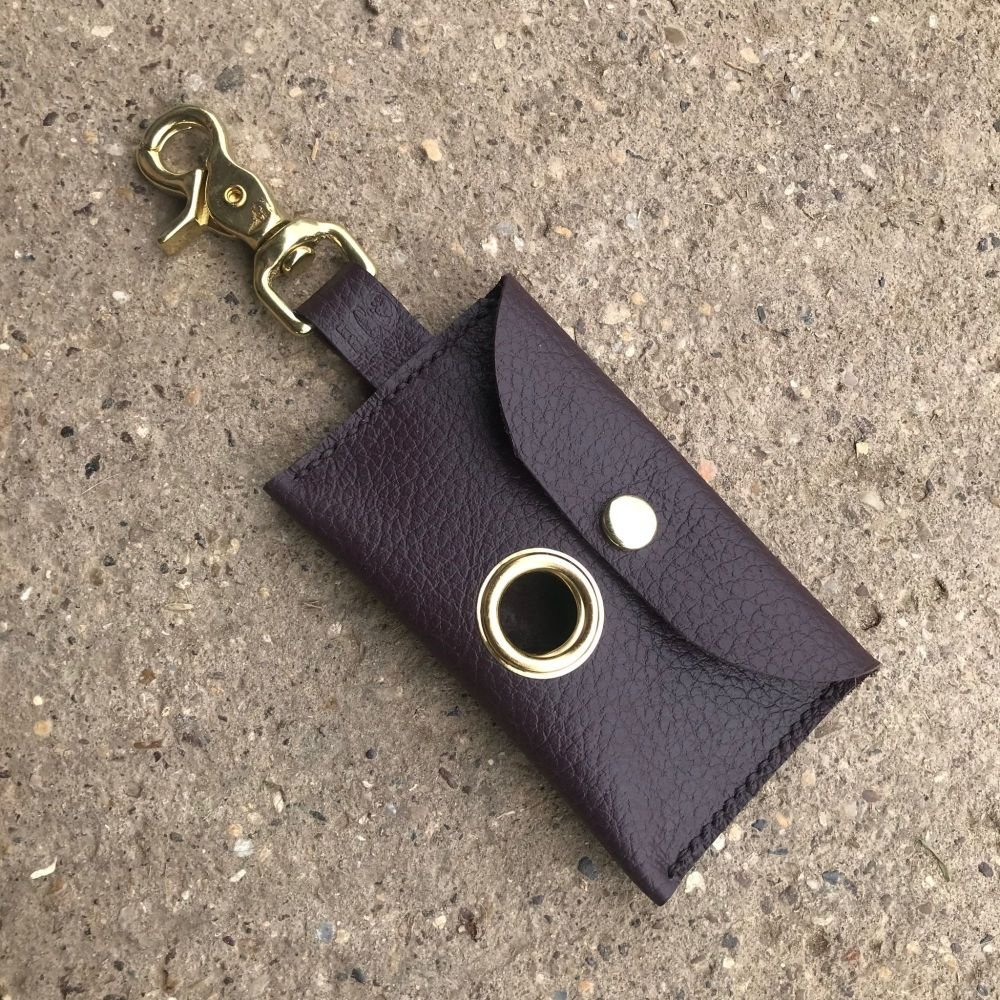 Aubergine Posh Poop Bag Holder
