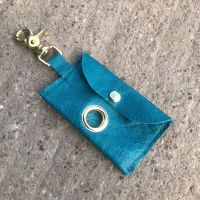TEAL POSH POOP BAG HOLDER