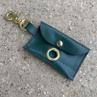 GREEN POSH POOP BAG HOLDER
